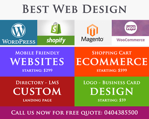 Affordable Websites | eCommerce | Small Business Website Experts Sydney City Inner Sydney Preview