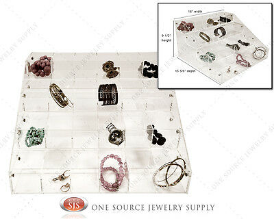 Make-up Organizer Acrylic Jewelry Organizer Display Showcase Countertop Display