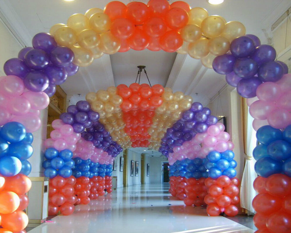 How to make a balloon arch ebay for Balloon arch decoration kit
