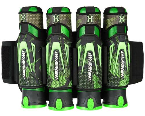 New HK Army Zero G 4+3+4 Paintball Pod Harness / Pack - Energy Green