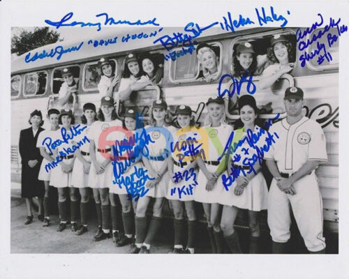 League Of Their Own CAST Signed 8x10 Autographed Photo reprint