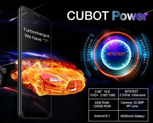 Cubot Power 6000mAh 5.99in 4G Smartphone 6GB 128GB Android 8.1 Oc Doveton Casey Area Preview