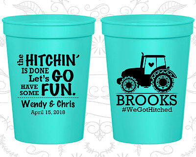 Personalized Cheap Wedding Cups Custom Cup (548) Country Wedding Favors - Cheap Country Wedding Favors