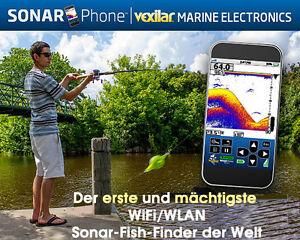 VEXILAR der Fishfinder Funk Echolot für Android u. iOS Tablets und Smartphone