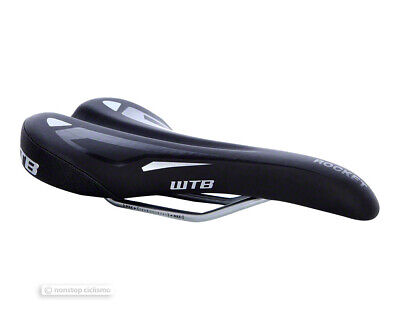 Wtb Steel Saddle - WTB ROCKET COMP Bike Saddle Unisex Steel Bicycle Seat 130mm 142mm 150mm BLACK