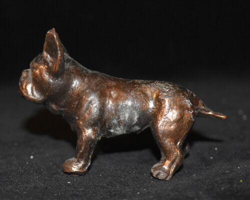 Cast Metal French Bulldog Dog Figurine Paperweight