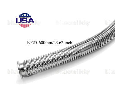 Us Bellows Hose Metal Kf-25 Vacuum Corrugated Bellows Pipe Tube 600mm23.62 Inch