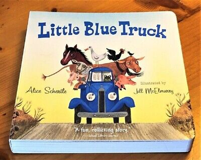 LITTLE BLUE TRUCK BRAND NEW Preschool Childrens BOARD BOOK Ebay Best Price!