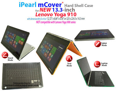 "NEW mCover® Hard Shell Case for 13.9"" Lenovo Yoga 910 Ultrabook Laptop for sale  Shipping to India"