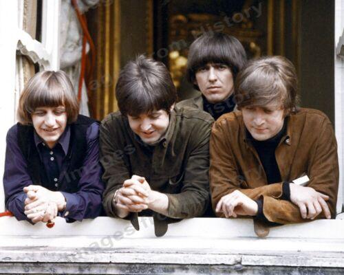 8x10 Print Beatles Paul McCartney Ringo Starr John Lennon George Harrison #9566