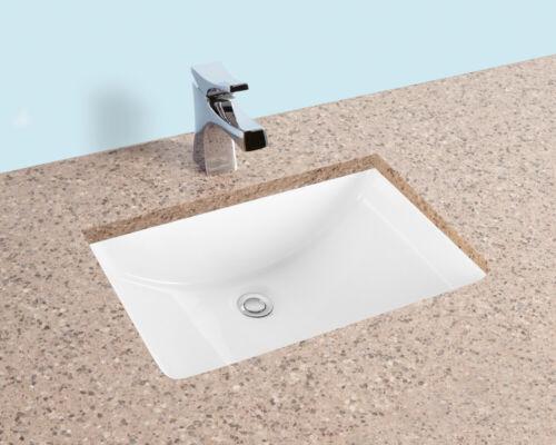 Fiore Rectangle Undermount Bathroom Sink