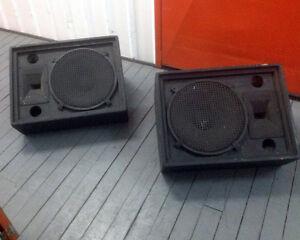 Foldback Speakers (Pair) Newcastle Newcastle Area Preview
