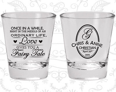 Wedding Shot Glasses Personalized Shot Glass (480) Fairy Tale Wedding Favors](Personalized Shot Glass Wedding Favors)