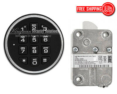 LAGARD SAFEGARD 3000 KEYPAD & 4200M BASIC II LOCK KIT - MOST STANDARD (Standard Keypad)