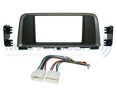 Radio Stereo Dash (Radio Stereo Mounting Installation Dash Kit Combo 2DIN + Wire Harness K56)