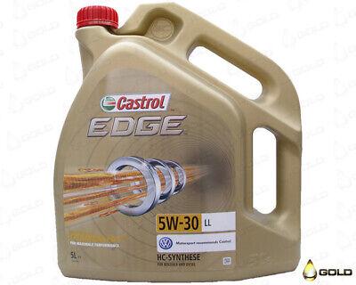 5W 30 Castrol EDGE LL TITANIUM FST 5 Liter Motoröl Porsche VW Mercedes