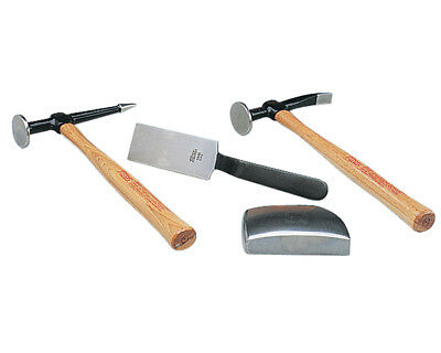 Martin Tools Body Hammer and Dolly Set for Body and Fender Repair 644K ()