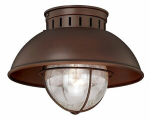 Outdoor ceiling mount porch lights mean