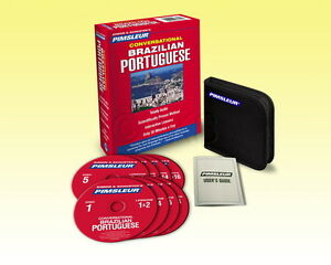 New 8 CD Pimsleur learn to Speak Brazilian Portuguese Language (16 Lessons)