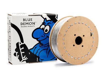 308LT1//4 .035 MIG 33 lb Spool Stainless Steel Flux Core Welding Wire Blue Demon