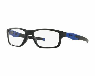 New Oakley OX8090-0855 Crosslink MNP 55mm Cobalt Satin Black Eyeglasses