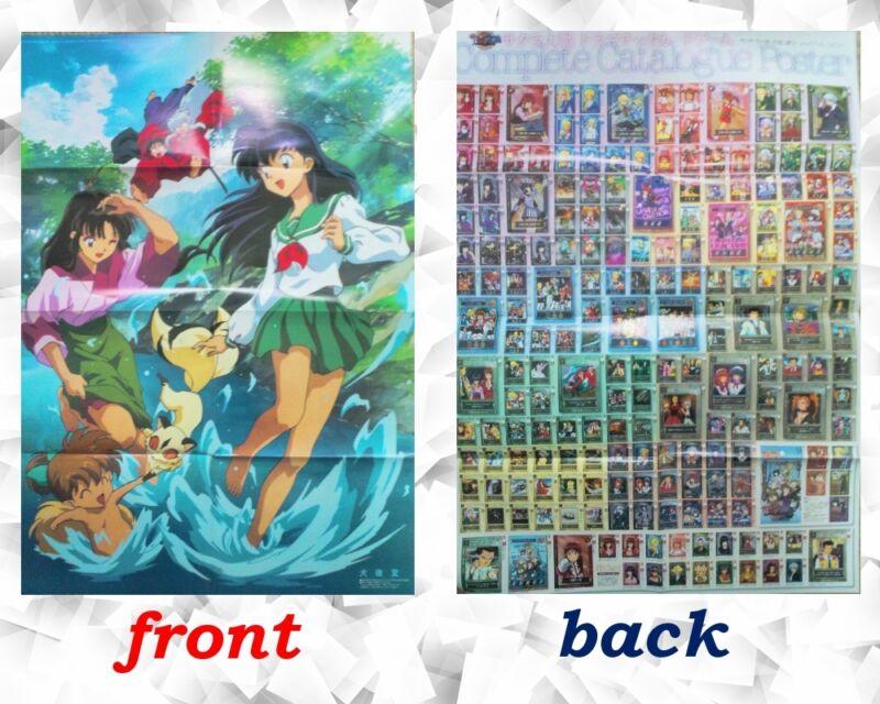 Inuyasha Big poster Japanese Anime sexy Kagome Sango Shippo