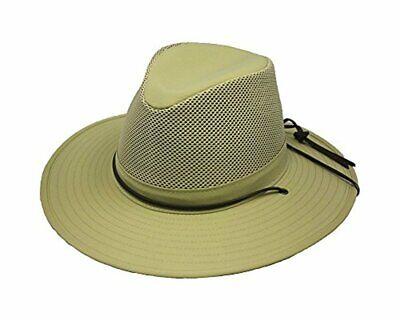 Henschel Men Khaki, Size Small Safari Hat Made in USA
