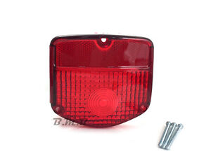 Taillight Tail light lens for Honda XL250S XL500S XL185S XL125S XL100S OE Type