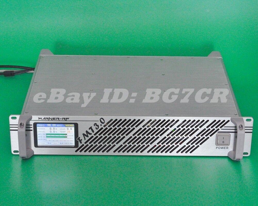 FMT3-1000 FM exciter //FM Transmitter 1000W DSP+PLL FM Broadcast transmitter