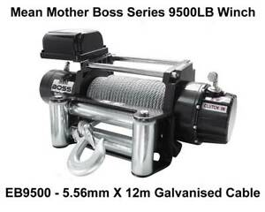 Mean Mother Boss Series 9500lb Winch - EB9500 Fyshwick South Canberra Preview