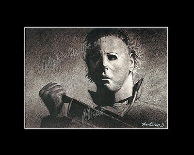 Michael Myers halloween horror character drawing fro artist image picture - Halloween Horror Pic