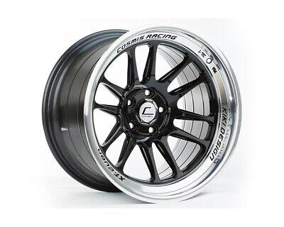 Cosmis Racing XT-206R 18x9.5 +10mm 5x114.3 Black w/ Machined Lip Rim Wheel