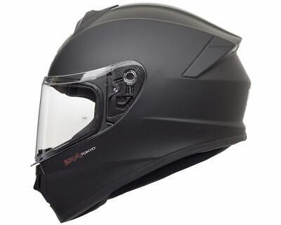 Motorradhelm Integral Demi-Jet Full Face CGM 301A TOKIO matte black genehmigt ()
