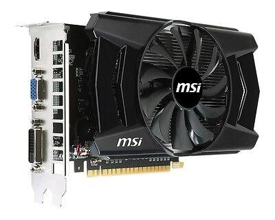 ( R ) MSI N750Ti-2GD5/OC GTX 750 Ti 2GB 128bits PCIe HDMI