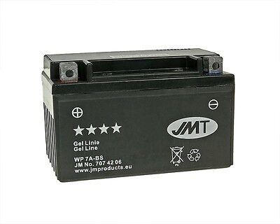 Batterie JMT GEL YTX7A-BS 12V 6AH 152 x 88 x 94 für Roller Quad Motorrad