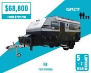 Fantasy 18ft Off Road Caravan Luxury Queen Bed Internal Kitchen Hamilton Brisbane North East Preview