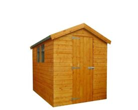 10FT X 6FT GARDEN SHED (APEX OR PENT ROOF) NEW!
