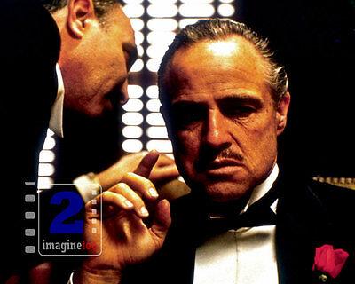 "Marlon Brando - The Godfather 10""x 8"" Color PHOTO REPRINT"