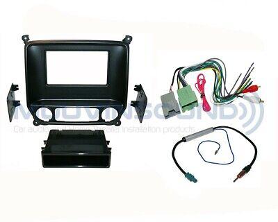 Radio Stereo Installation Dash Kit Combo SD/DD + Wire Harness + Antenna CH30