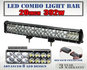 20inch 382W Philips Lumileds LED Light Bar Flood Spot Combo Work Wangara Wanneroo Area Preview