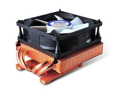 PcCooler K80D Copper VGA Cooler with 4 x Heatpipes 80mm Cooling Fan & Heatsink
