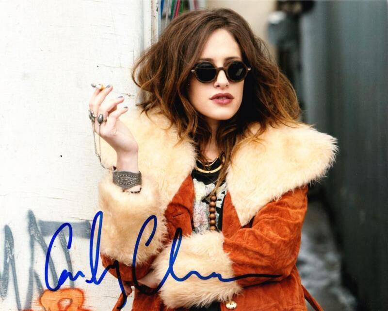 HOT SEXY CARLY CHAIKIN SIGNED 8X10 PHOTO MR. ROBOT AUTHENTIC AUTOGRAPH COA A