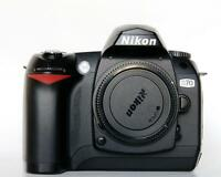 mint nikon D70 dslr body with accessories