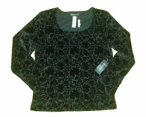 JONES NEW YORK Black Velvet Sparkle Top - NEW Gatineau Ottawa / Gatineau Area image 1