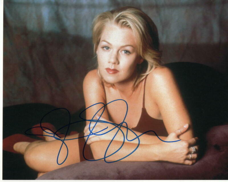 JENNIE GARTH SIGNED AUTOGRAPHED 8X10 PHOTO - BEVERLY HILLS 90210 BEAUTY, SEXY