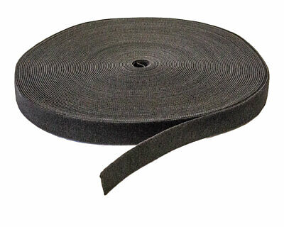 34 Inch Roll Hook And Loop Reusable Cable Ties Wraps Straps 25m 82ft