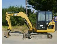 2011 CAT 302.5C ONLY 3550 HOURS