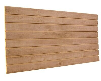 Aspen Oak Slatwall Panels 24h X 48l 2 Pack Cldv