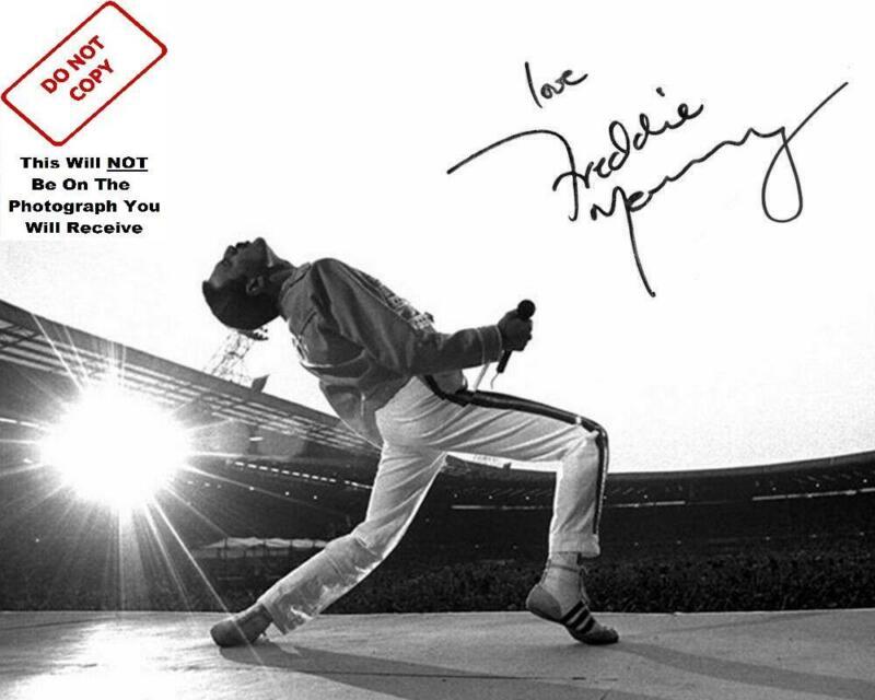 Freddie Mercury Queen Signed Autograph 8x10 Photo Reprint Print Freddy Pic 9479
