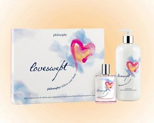 Philosophy Loveswept Gift Set -  Fragrance 2 OZ. + Lotion 8 OZ. New In Gift Box
